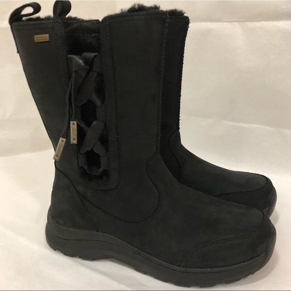 e489e7bef9d UGG Suvi Waterproof Leather Boot Size 7 NWT